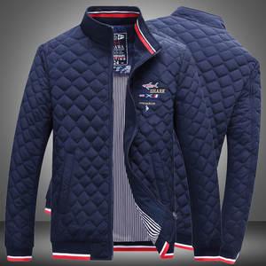 Clothing Loose-Coats Casual-Jackets Autumn Quality Winter Cotton Shark-Brand Warm Fashion