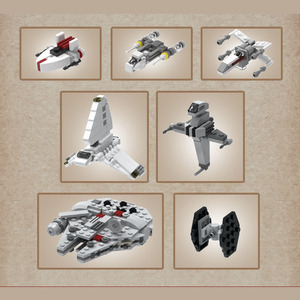 Image 5 - כוכב ילדים צעצועי מלחמת UCS Nebulon B רפואי פריגטה משחתת דגם ערכת אבני בניין לבנים תואם עם 81070 Starwar מתנות