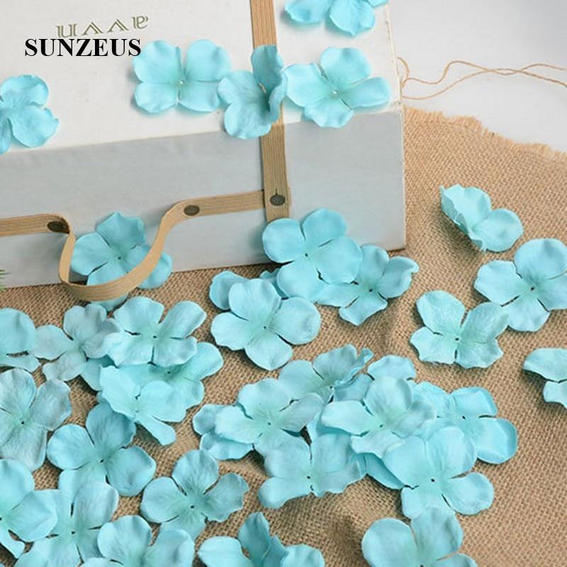 Image 2 - 4.5CM Flower Girl Petals Artificial Rose Petals Polyster Cloth Wedding Petals Party Decoration Evening Flowers Accessories SJ007Rose Petals   -