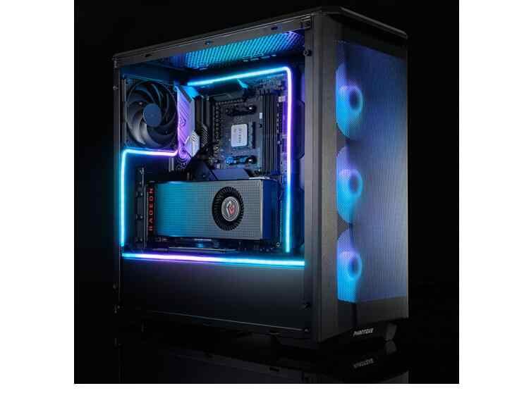 PHANTEKS M1 M5 Combo ışık şeridi ARGB Neon bilgisayar kasası dekorasyon led şerit 5V 3PIN ışık başlığı AURA 400/550/1000mm