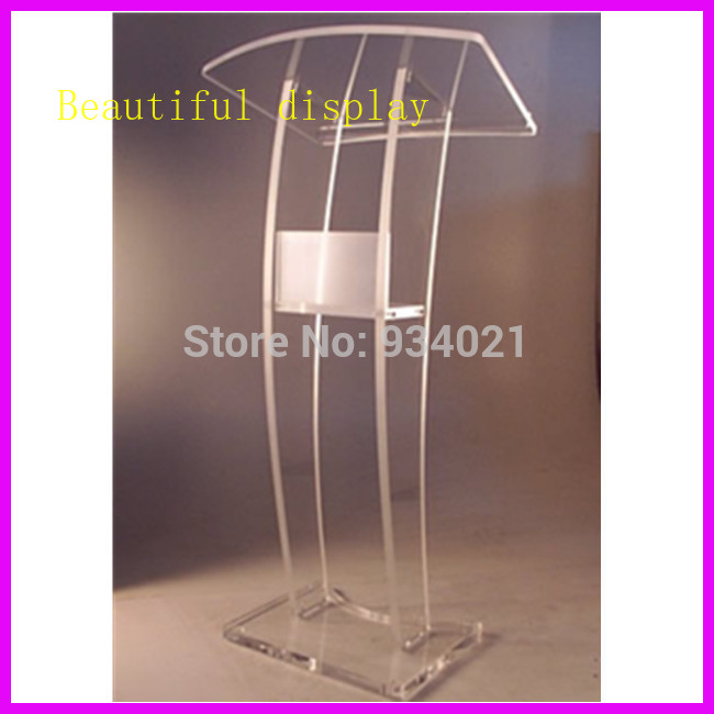 Practical Modern Design Acrylic Podium conference lectern podium|Theater Furniture| |  - title=