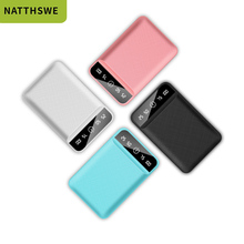 NATTHSWE Power Bank 10000mAh For Xiaomi Mi 2 USB PowerBank P