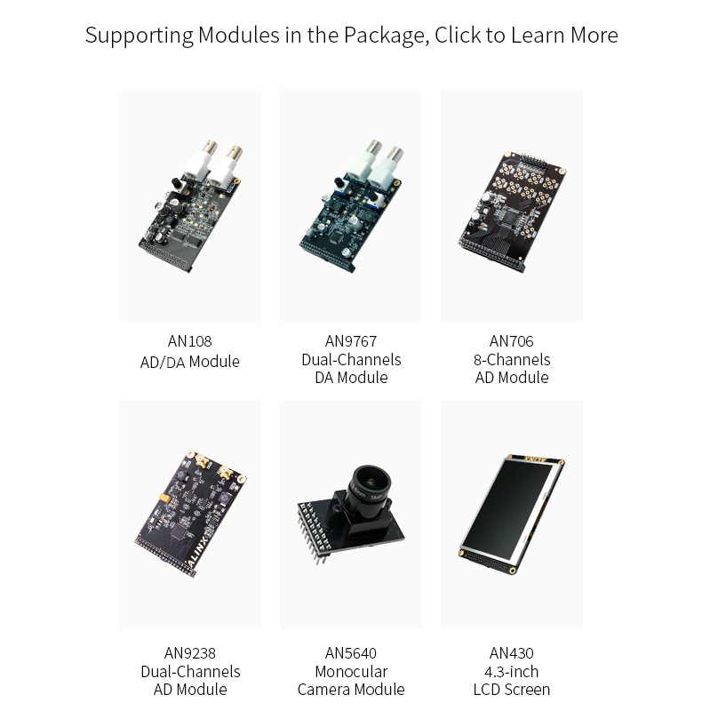Alinx ax515: placa de desenvolvimento ddr2 gigabit