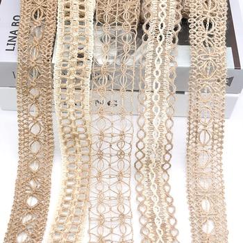 2M Width 3-5cm Wedding Decor Hemp Rope Woven Ribbon Favor Supplies Jute Burlap Rolls DIY Hand Crafts Home Party Ornament