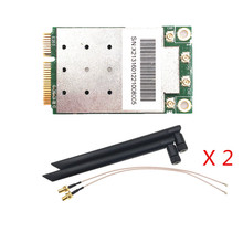Broadcom 2.4/5Ghz BCM43465 802.11AC/A/B/G/N 4x4 MU MIMO 2.2Gbps Mini carte WiFi PCIe