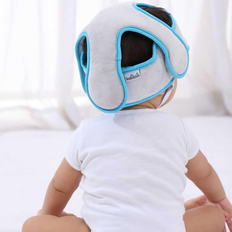 Sombrero de bebé sombrero de protección para la cabeza de bebés sombrero de seguridad resistente a los golpes cascos suaves para niños gorro para bebé