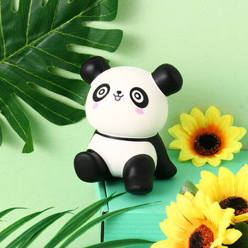 Cute Panda Squishy Jumbo Slow Rising Antistress Squeeze Toys Phone Straps Charms Scented Cake Kawaii Squishies 4.3 Inches  8.13 squishy antistress toys jumbo soft slow rising rice cake food stress relief bakery decoration decompression squishies kids toys