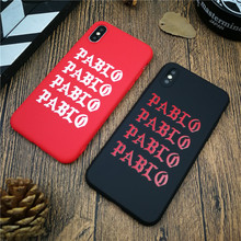 Trend brand soft for iphone 11 PRO MAX X XS MAX XR 8 7 6 6S plus silicone phone cover Kanye LOGO matte coque fundas capa 8plus цена и фото
