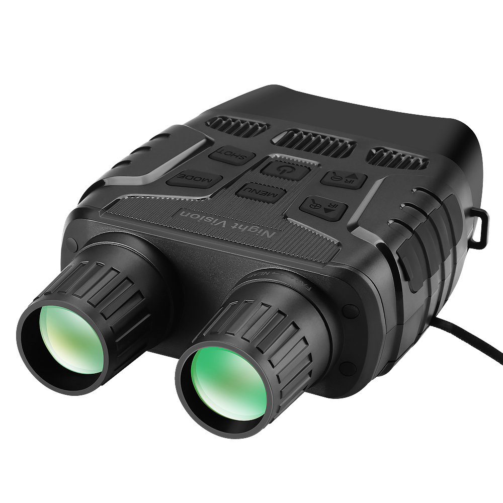 Night Vision Device Binoculars 300 Yards Digital IR Telescope Zoom Optics with 2 3  Screen Photos Video Recording Hunting Camera