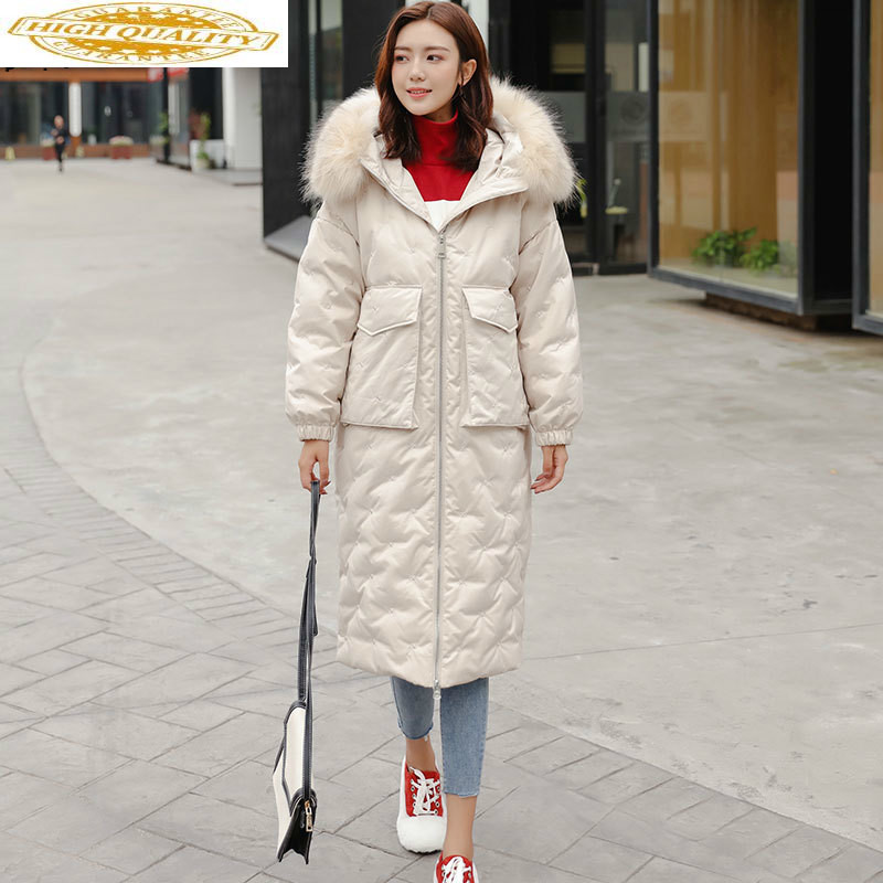 2020 Winter Women's Down Jacket Hooded Korean Puffer Coat Female Jacket Duck Down Coat Chamarras De Mujer 8517 YY1229