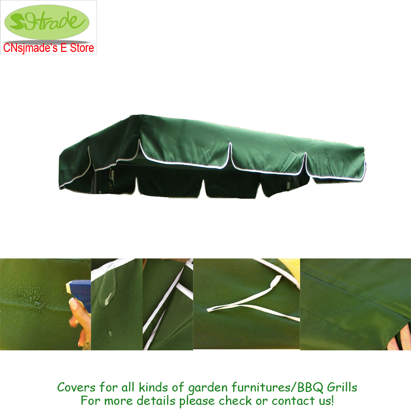 Cnsjmade Universal Swing Top Cover 100% Polyester 3 Sizes For Choose Waterproofed Awning Canopy Sun Shade Accessories