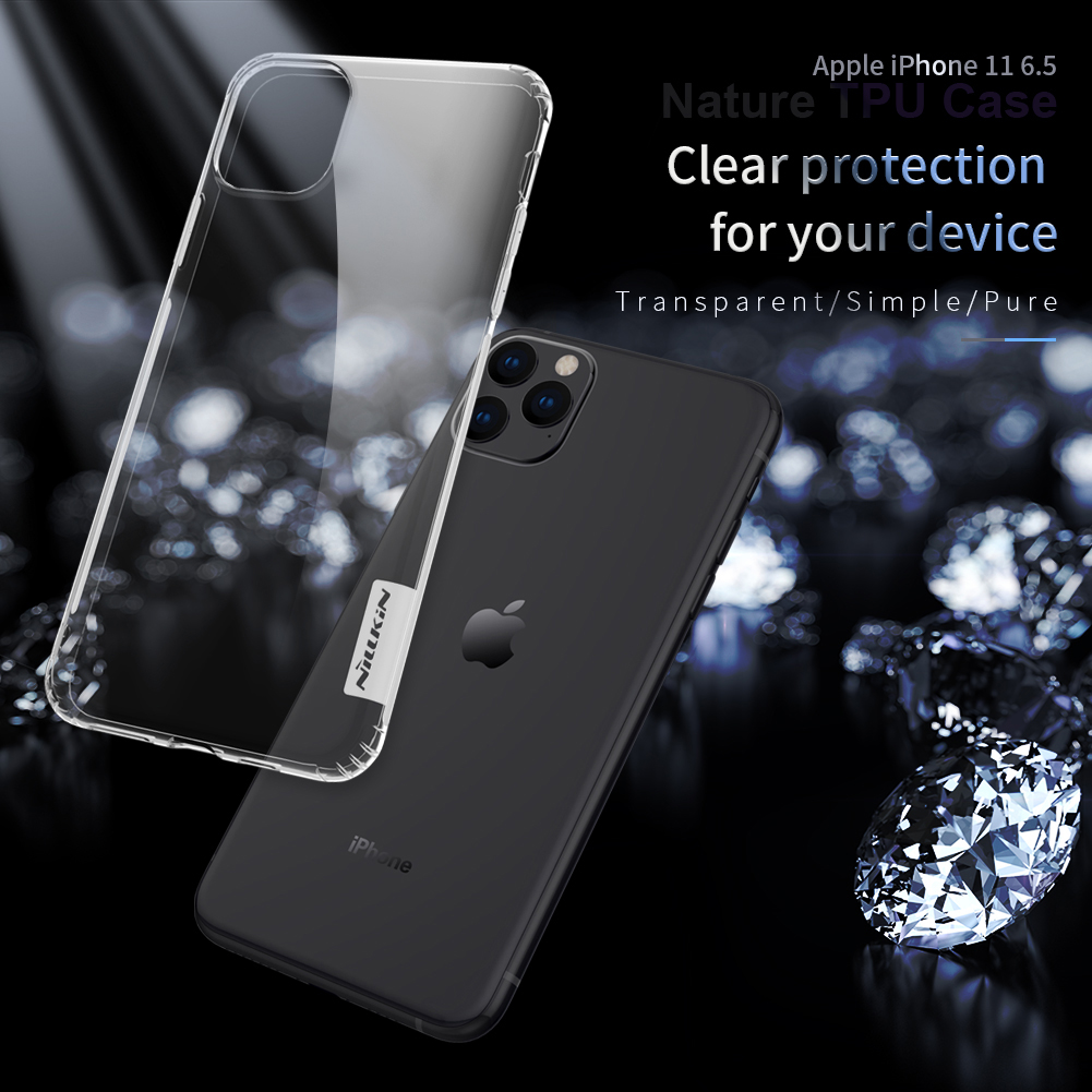Nilikin Clear Case for iPhone 11/11 Pro/11 Pro Max 1