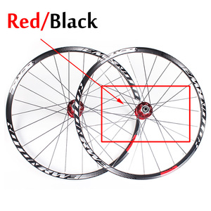 """Image 4 - RXR ruedas de bicicleta de montaña de 27,5 """"26"""" 29 """", rueda de bicicleta de montaña 7 11 Spee, juego de ruedas delanteras y traseras, compatible con Shimano SRAM Cassette"""