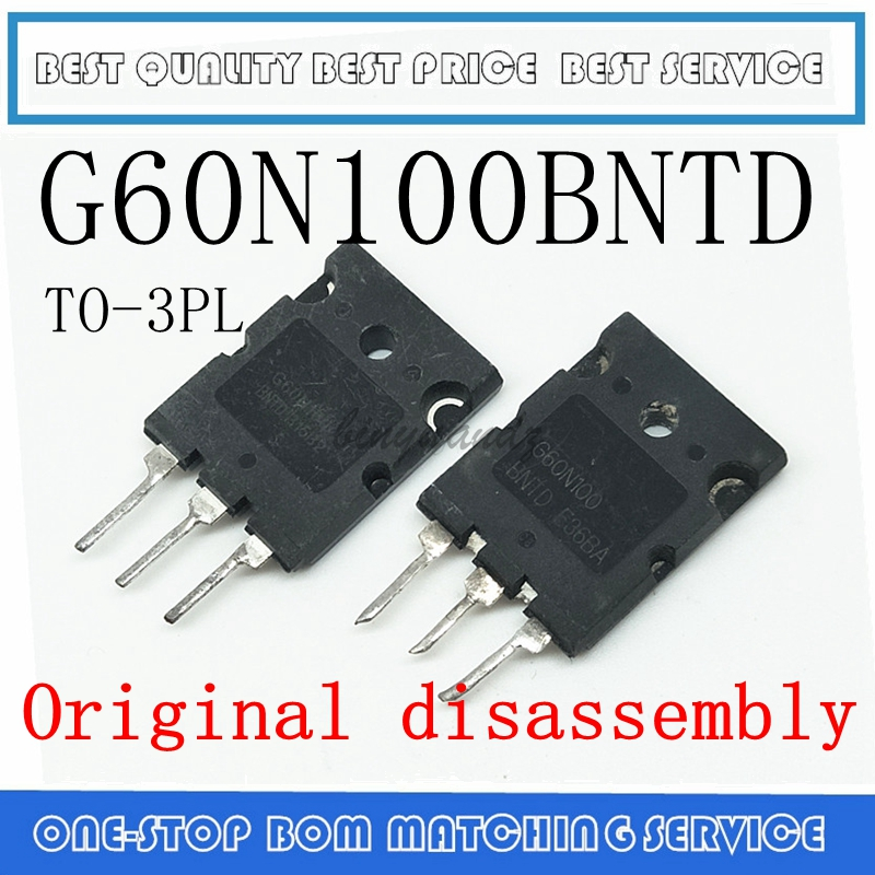 5PCS-20PCS <font><b>G60N100BNTD</b></font> G60N100 BNTD TO-3PL Original disassembly image