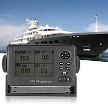 ONWA KP-32 gps/SBAS морской навигатор 4,5 дюймов ЖК-дисплей gps навигация локатор сигнализация прибытие якорь зона XTE скорость времени