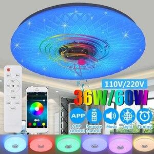 Modern RGB LED Ceiling Light h
