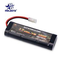 Bateria recarregável do brinquedo de melasta 7.2 v 5000 mah nimh rc com tamiya/conector da descarga da banana para carros de corrida de rc  caminhões  buggys