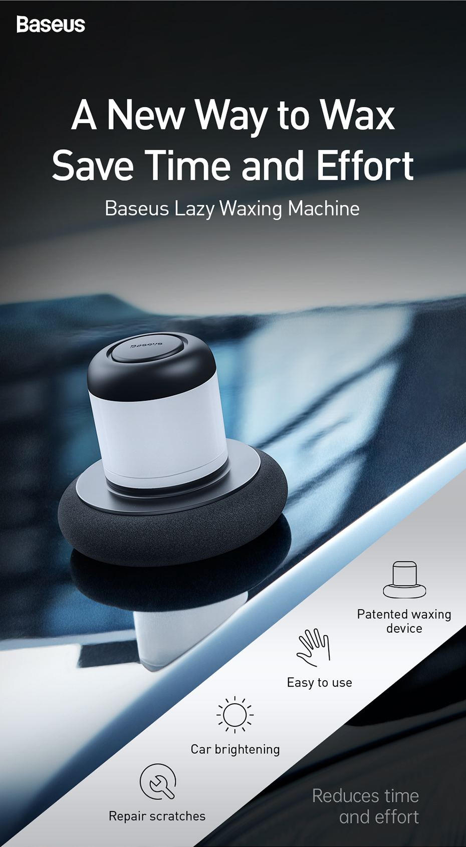 Εργαλειομηχανή γυαλίσματος αυτοκινήτου msow