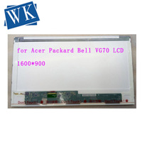 17.3 for Packard Bell VG70 EasyNote LV11HC LED Display Laptop LCD Screen 1600x900 Replacement for Acer Panel