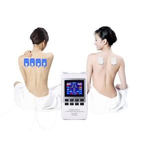 Image 3 - רב פונקציה חשמלי לעיסוי ביתי דיגיטלי מרידיאן ביניים תדר שדות צוואר המותני צוואר הרחם כתף acupunct