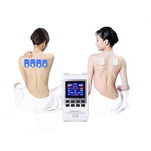 Image 3 - Multi funktion elektrische massager haushalts digitalen meridian zwischen frequenz bereichen hals lenden zervikale schulter acupunct