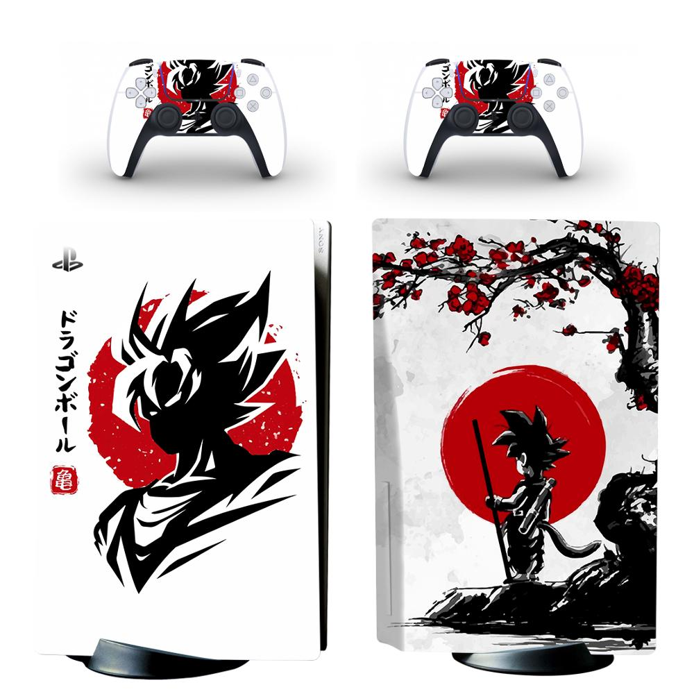 New PS5 Standard Disc Edition Skin Sticker Decal Cover for PlayStation 5 Console & Controller PS5 Skin Sticker 3