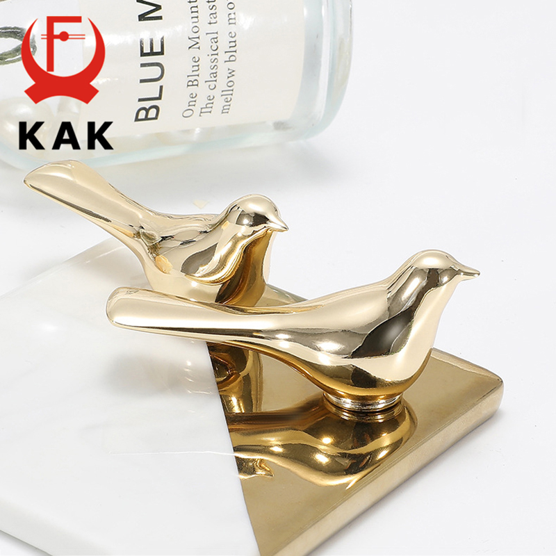 KAK Fashion Decoration Wall Hooks Gold Cabinet Knobs And Handles Dresser Knobs Pulls Hat Bag Hanging Hook Wall Cabinet Hardware