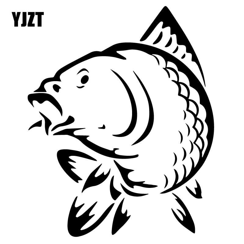 12.3*15.2CM Marine Animal Fish Funny Car Sticker Fashion Car Styling Decoration Accessories C4-0794