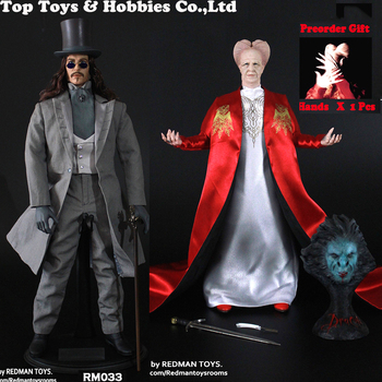 Gift for fans In stock 1/6 Dracula Red RM032 & RM033 Dracula Blue Version Action Figure Model for collection Colletible boxed фото