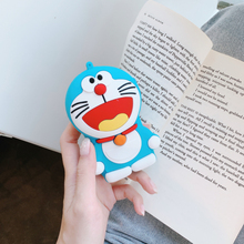 Portable  In-Ear Line Wired Headset Cute Cartoon Storage Bag Case For iPhone/Huawei/Xiaomi Earphone