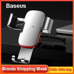 Baseus Gravity Автомобильный держатель для телефона для автомобиля CD слот держатель для телефона Подставка для iPhone X samsung S10 металлический держате...
