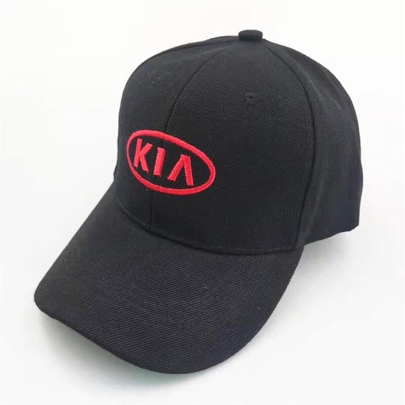 Unisex Fashion Cotton Car Logo Performance Baseball Cap Hat For KIA RIO K2 K3 K5 K9 Sportage