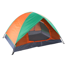 210D Nylon Waterproof Outdoor Camping Tent for Climbing Hiking Tents Portable Foldable Shelters Sun Shelter For