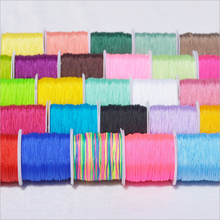 20 Metre 0.8mm Jade Thread Line Cord Cotton Thread String Strap Necklace Rope For Jewelry Making DIY Bracelet Necklace Supplies
