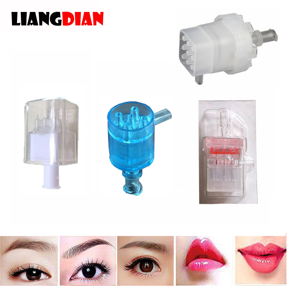 Disposable Photon Water Light 3D Beauty Tools EZ Vacuum Mesotherapy Gun Injection Needles Tip Negative Pressure Cartridge