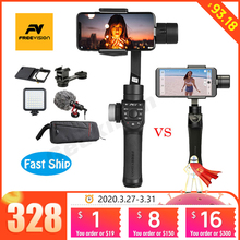 Freevision Vilta M / Vilta m pro 3 axis Handheld Gimbal Smartphone Stabilizer for iPhone Samsung GoPro Action vs Smooth 4 OSMO 2