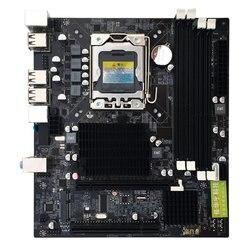 Płyta główna komputera X58 cztery gniazda pamięci 1366 pin wsparcie L/E5520 X5650 itp RECC pamięci d3 dla komputera w Płyty główne do laptopów od Komputer i biuro na