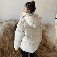Womens Parka Casual Outwear Autumn Winter Hooded Coat Winter Jacket Women Hooded Coat Fashion