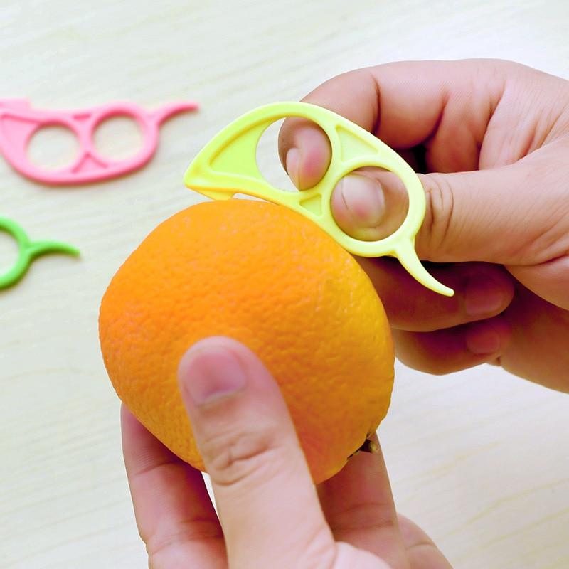 Household Creative Little Mouse Device Used To Cut Oranges Mini Orange Peeling Device Convenient Orange Peeler Pomegranate Orang