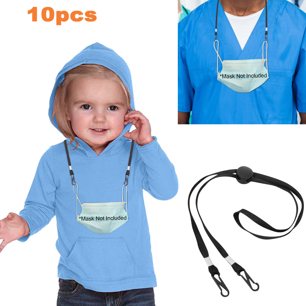 5/10pcs Adjustable Face Mask Extension Lanyard Handy&convenient Ear Holder Mask Rest Hang On Neck String &ear Rope Accessories(China)