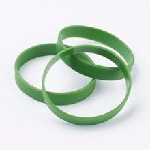 50pcs Silicone Wristbands Bracelets Cord Bracelet Elastic Ba