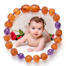 HIYONG Original Amber Teething Bracelet for Baby Natural Baltic Jewelry Boys Girl Bracelets Stone