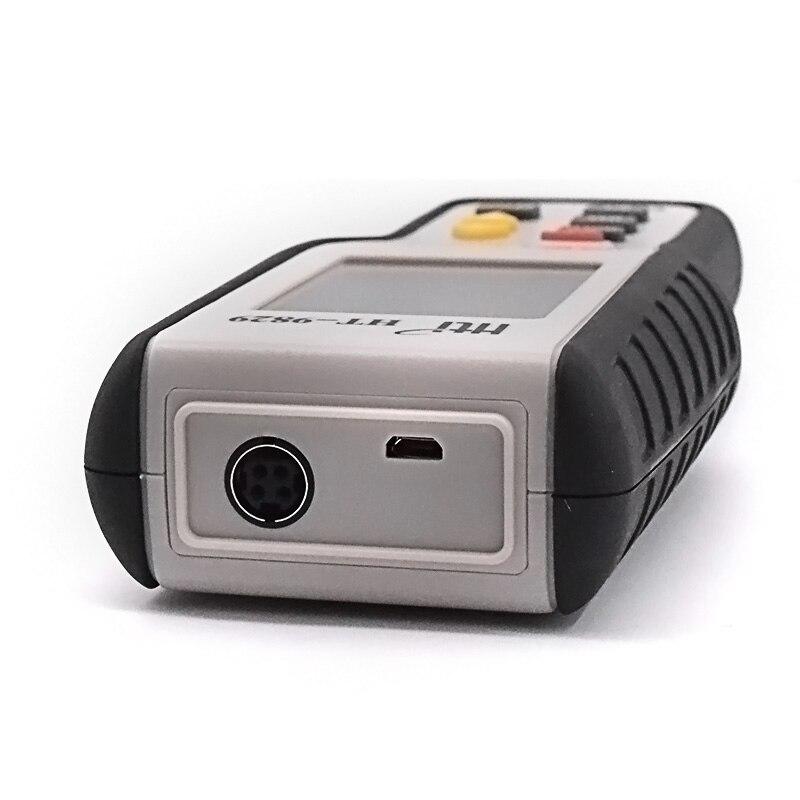 Testeur de vitesse du vent numérique anémomètre jauge outil de Diagnostic Air vitesse du vent enregistrements rappel et maintien des données compteur de vitesse du vent - 3