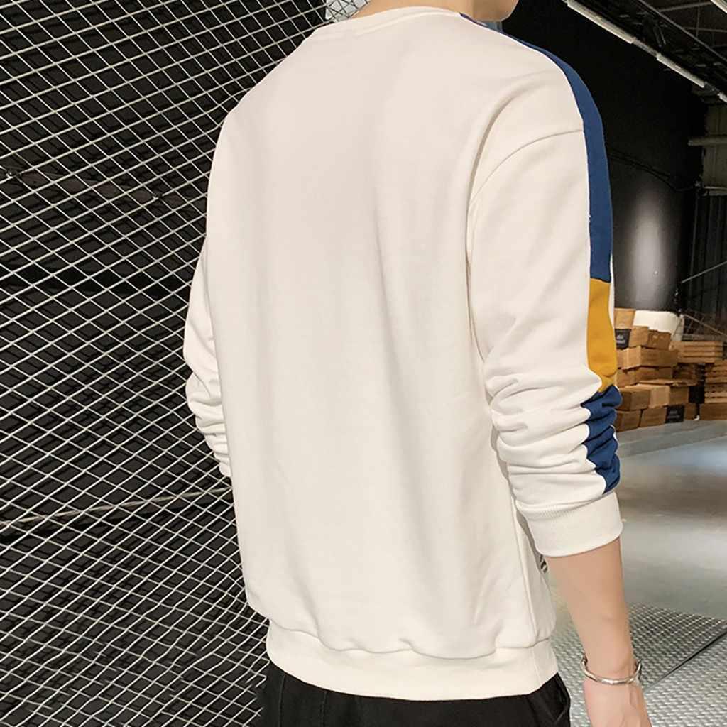 男性ファッション男性秋春パッチワーク因果トップスヒップホップブラウスシャツクラシックスタイル新しい服ホット販売