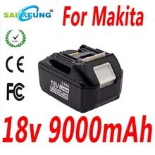 Für Makita BL1860B 18V 9000mAh Li-Ion Akku LXT BL1850B 197422-4 BL1840B  BL1830