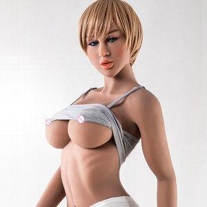 Image 5 - 164 centimetri #8 Bambola Del Sesso grandi Tette e Ben Definito Fianchi Giocattolo Adulto Del Sesso Del Seno big Ass Vagina Realistica bambola di amore