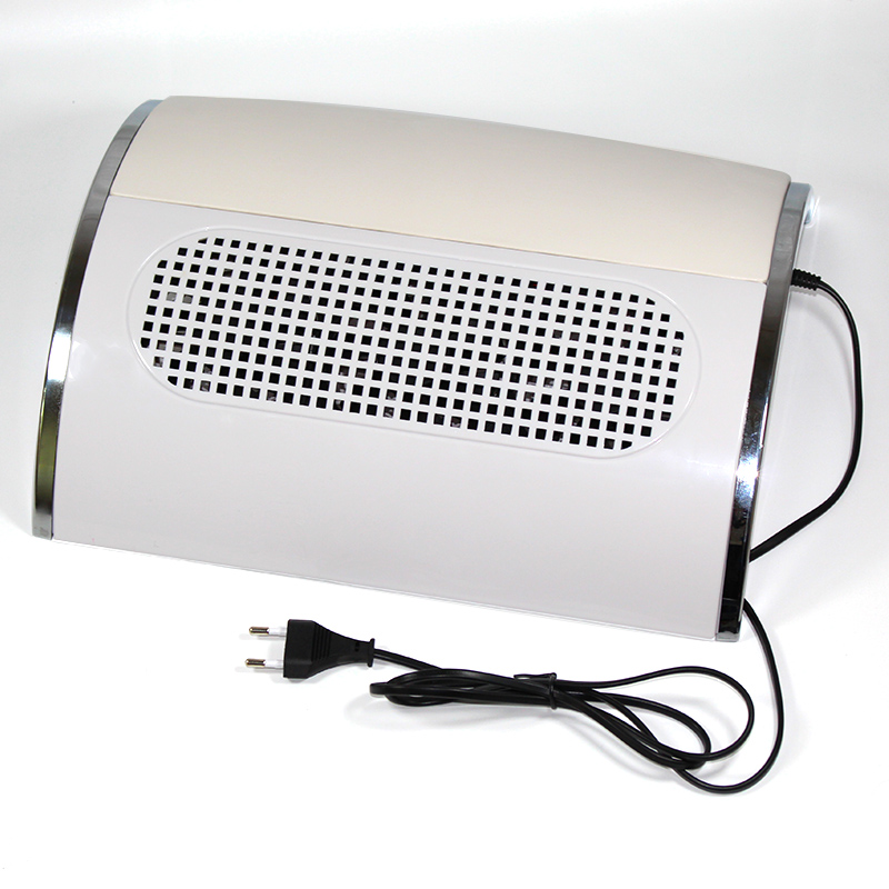 Nail Fan Art Salon Suction Dust Collector Machine Vacuum Cleaner With 3 Fan 40W UV Gel Polish Vacuum Cleaner