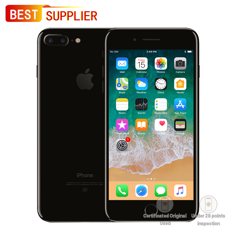 APPLE iPhone 7 Plus GSM Unlocked, 32GB/128GB/256GB Optional, 5.5 inches, Looks Like New, 1 Year Warranty feature phone
