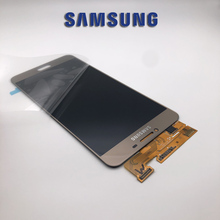 ORIGINALE di 5.7 Nuovo SUPER AMOLED Display LCD per SAMSUNG Galaxy C7 Display LCD C7000 di Tocco Digitale Dello Schermo di Ricambio