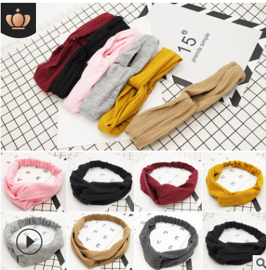 Lady Elastic Headband Women New Headbands Girl Lovely Headwear FD10